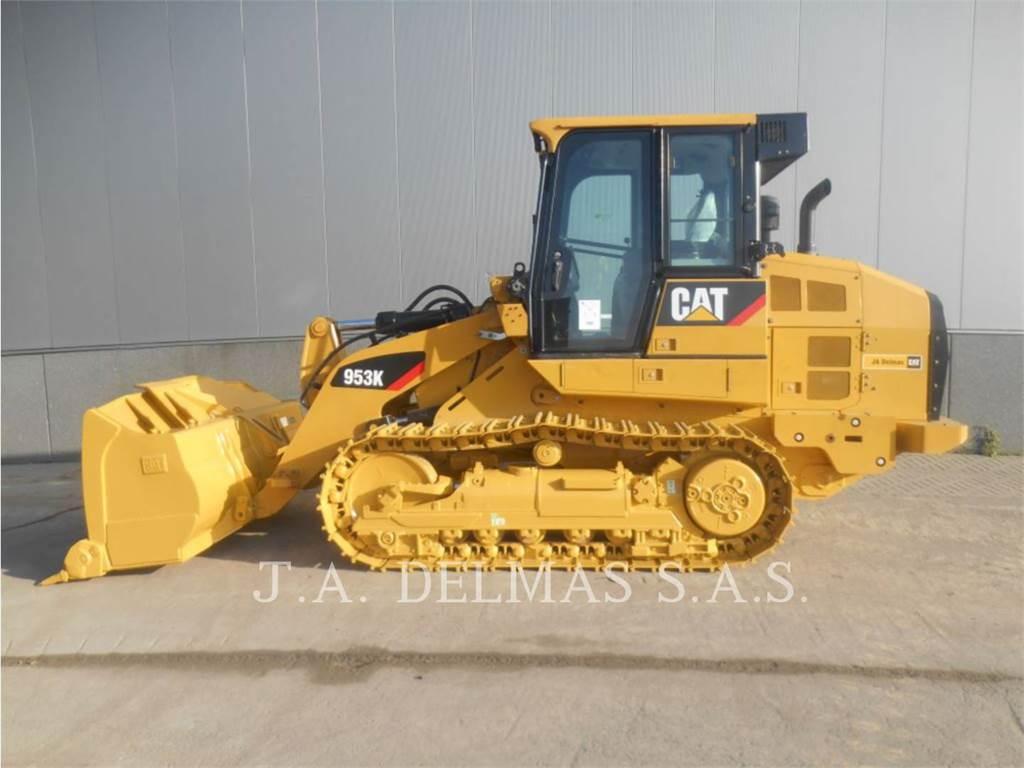 Caterpillar 953、履带式装载机、建筑设备