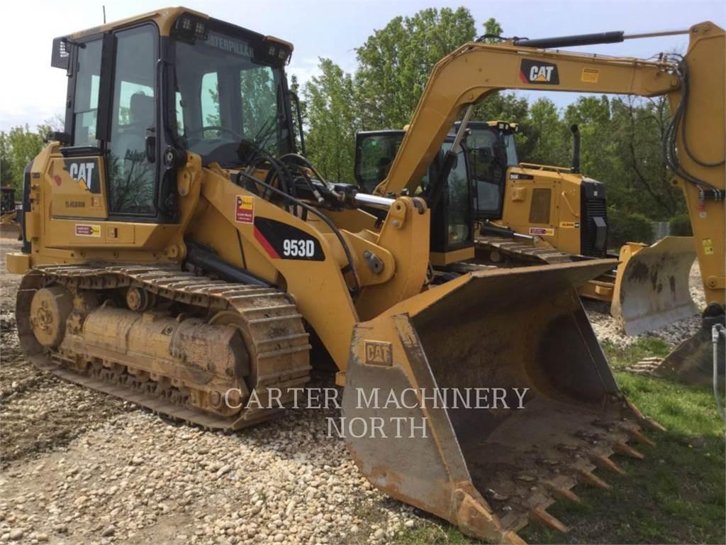 Caterpillar 953 D, track loaders, Construction