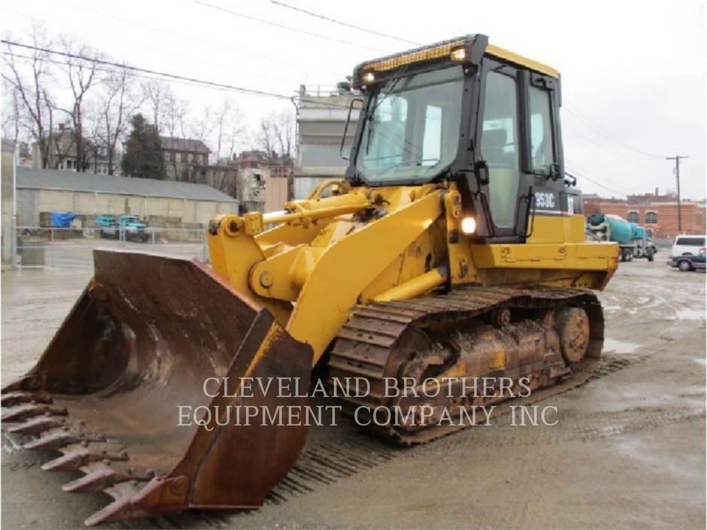 Caterpillar 953C, track loaders, Construction