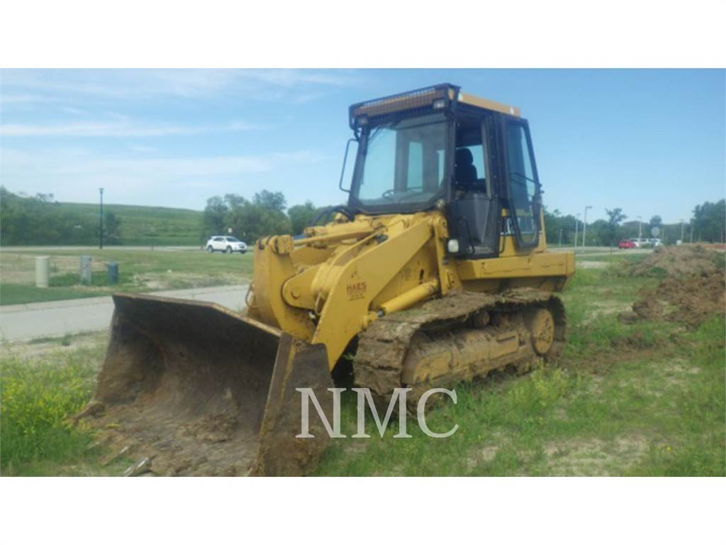 Caterpillar 953C, track loaders, Construction