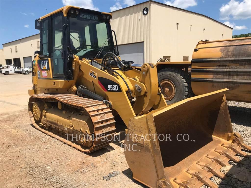 Caterpillar 953D, cargadores de cadenas, Construcción