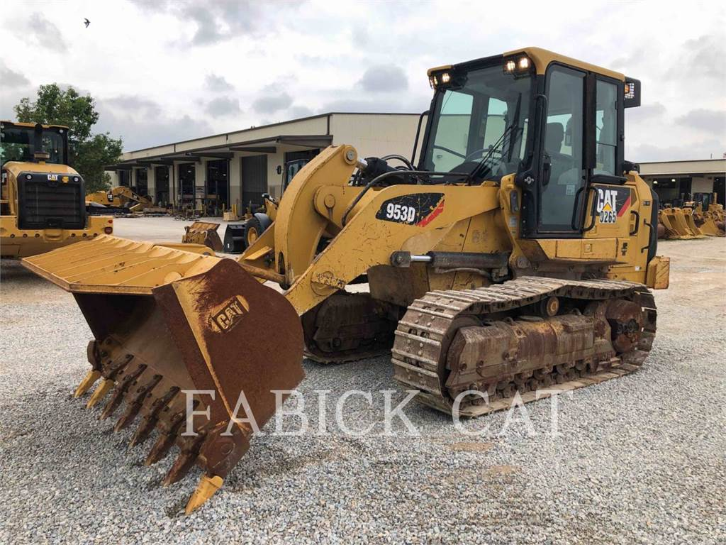 Caterpillar 953D, carregadeira de esteiras, Equipamentos Construção