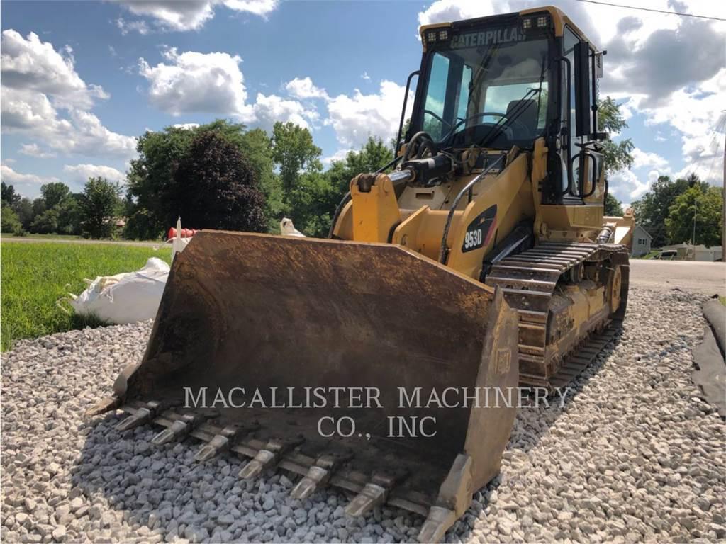 Caterpillar 953D, chargeurs sur chaines, Équipement De Construction