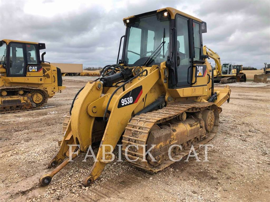Caterpillar 953D R, track loaders, Construction