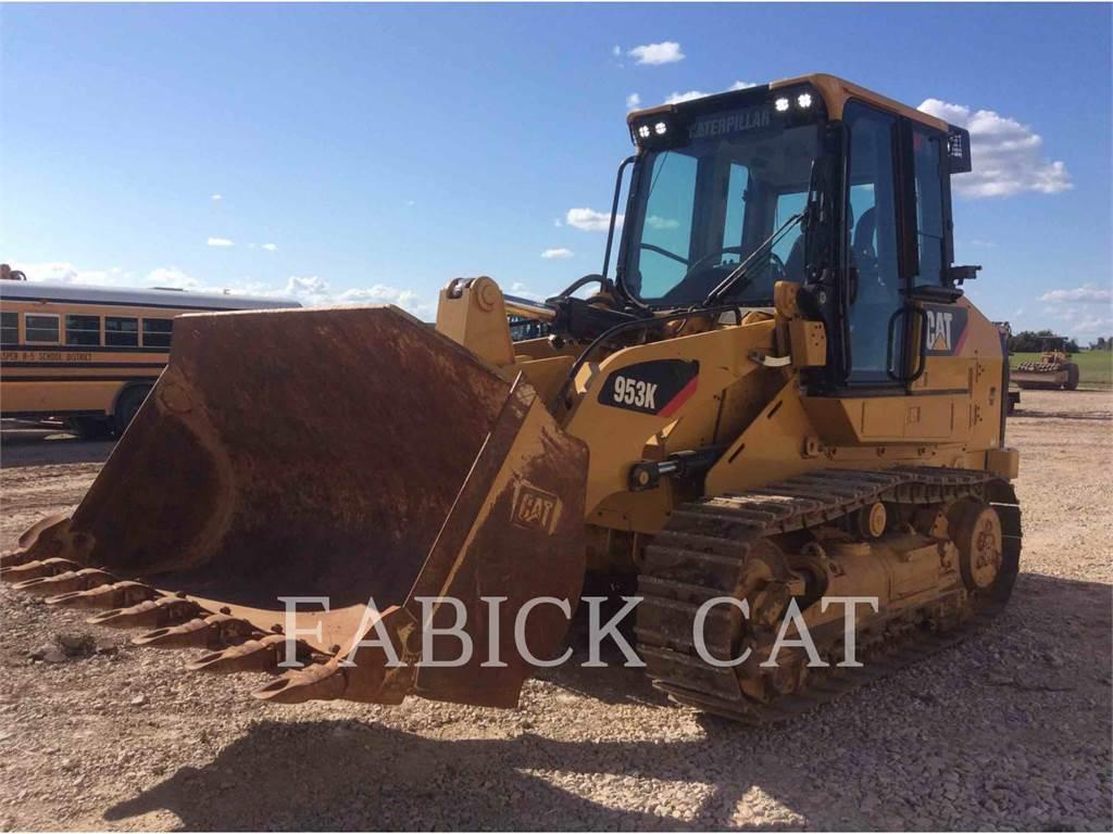 Caterpillar 953K, cargadores de cadenas, Construcción