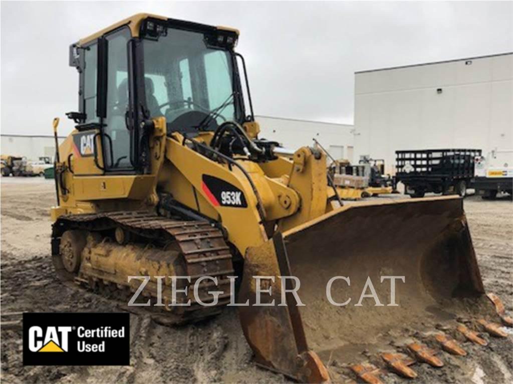 Caterpillar 953K, track loaders, Construction