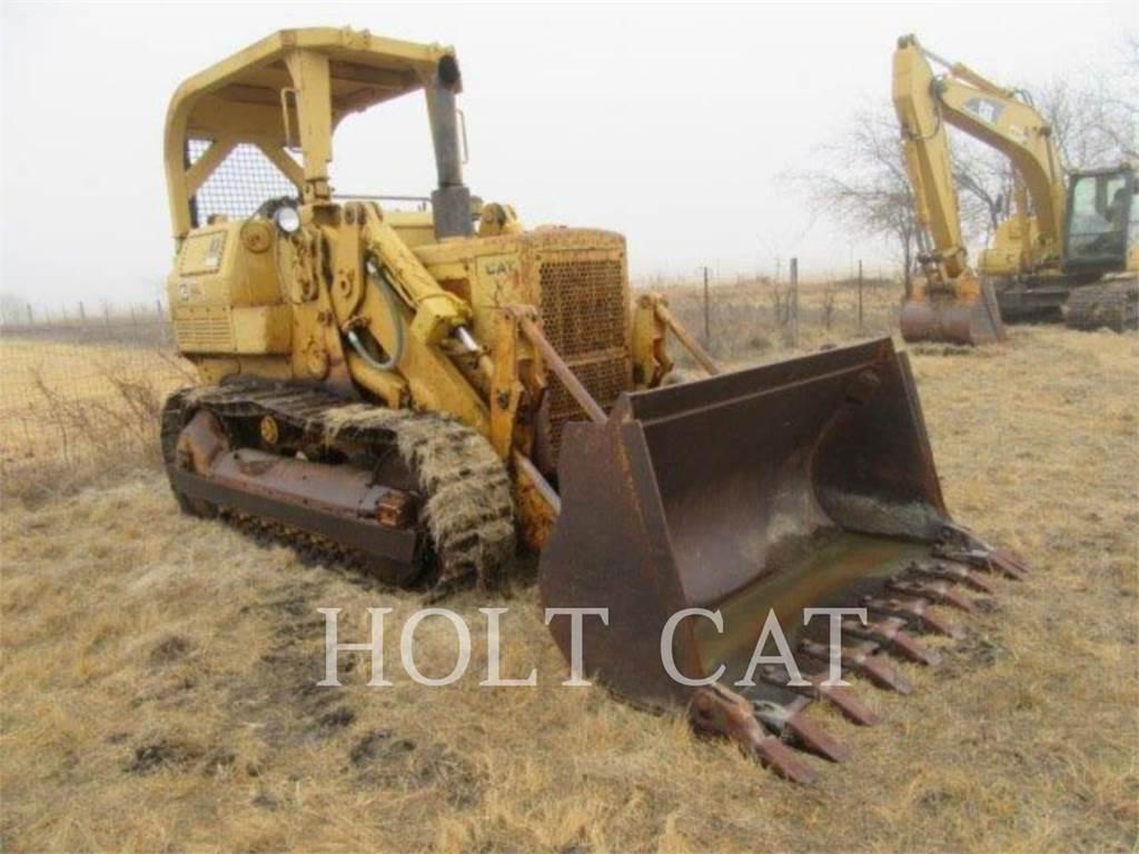 Caterpillar 955L, track loaders, Construction