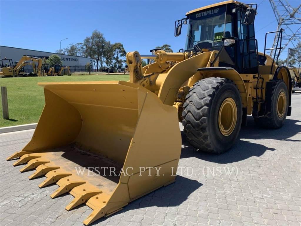 Caterpillar 962H, Ładowarki kołowe, Sprzęt budowlany