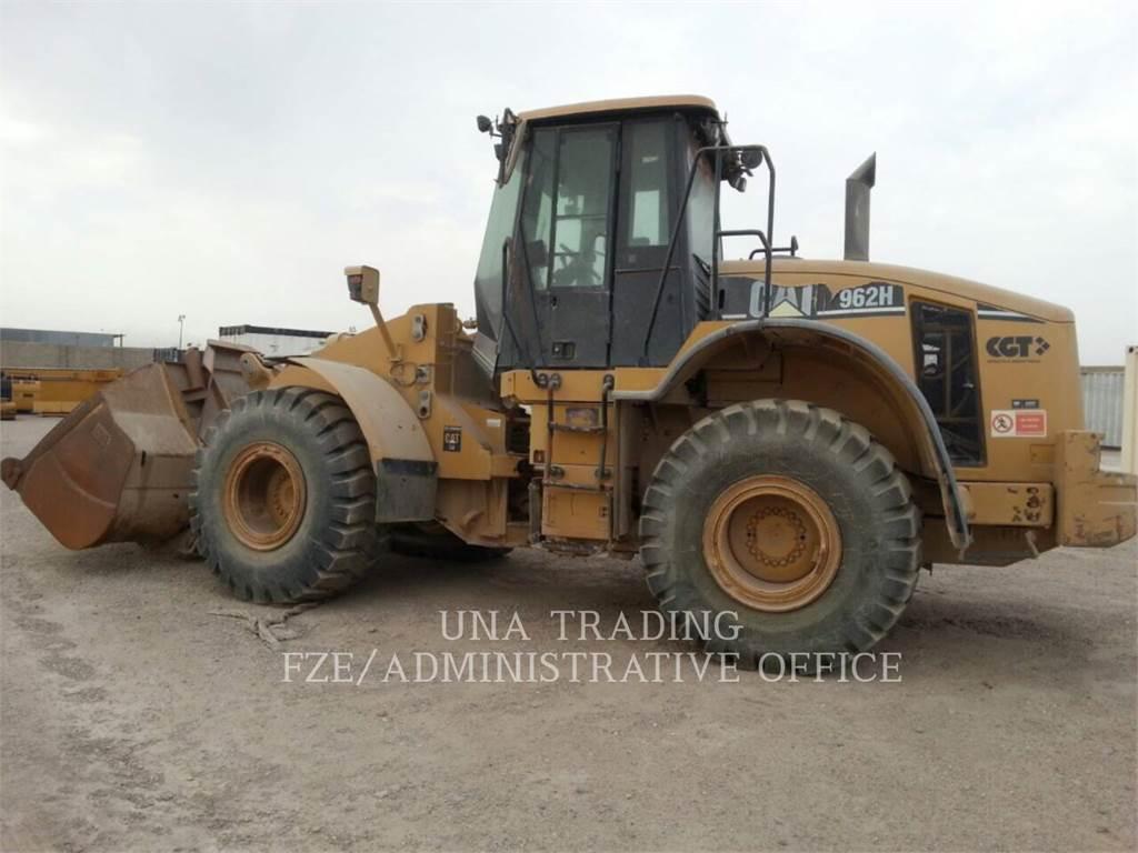 Caterpillar 962H, Cargadoras sobre ruedas, Construcción