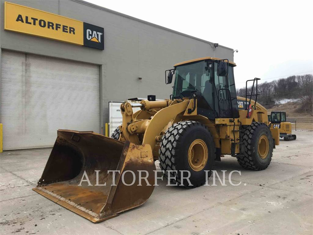 Caterpillar 962H, Wheel Loaders, Construction