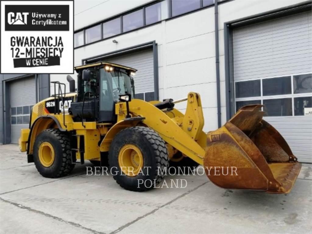 Caterpillar 962K、ホイールローダー、建設