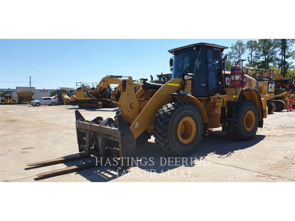 Caterpillar 962K, Wheel Loaders, Construction