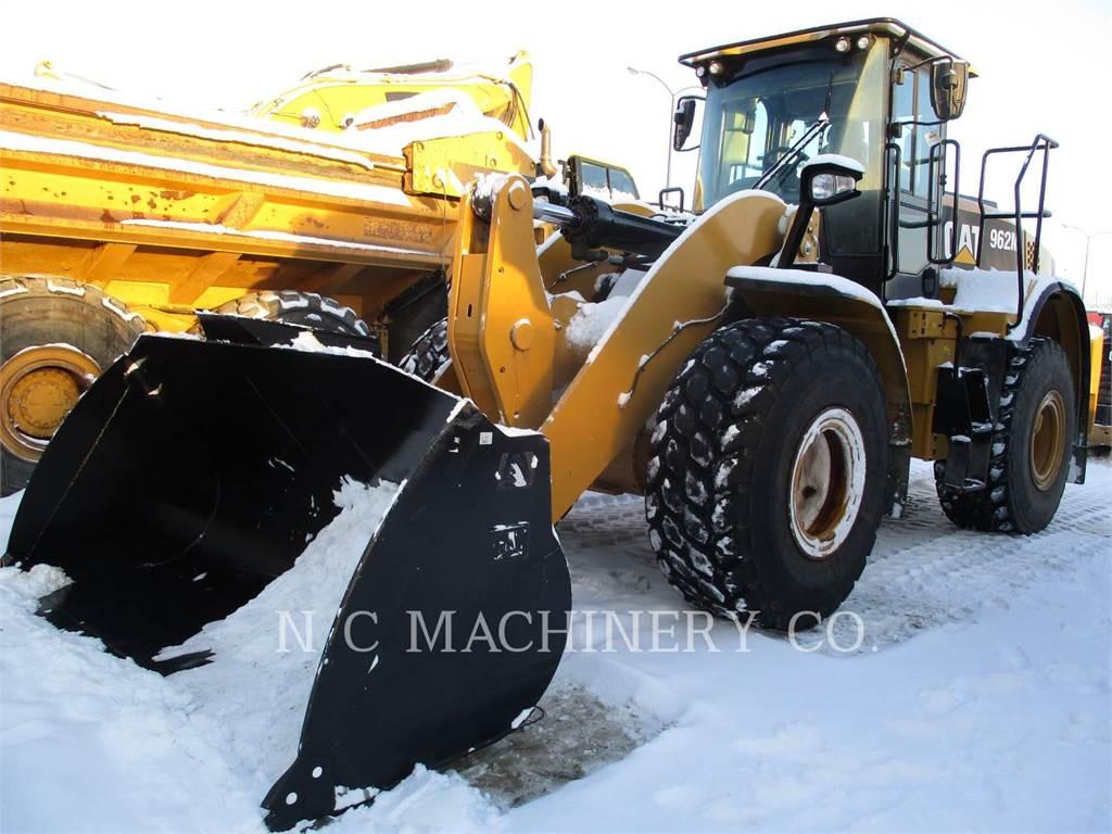 Caterpillar 962M, Cargadoras sobre ruedas, Construcción