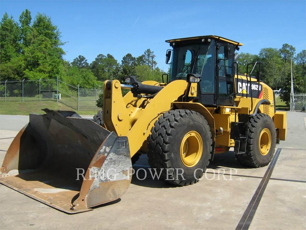 Caterpillar 962M、ホイールローダー、建設
