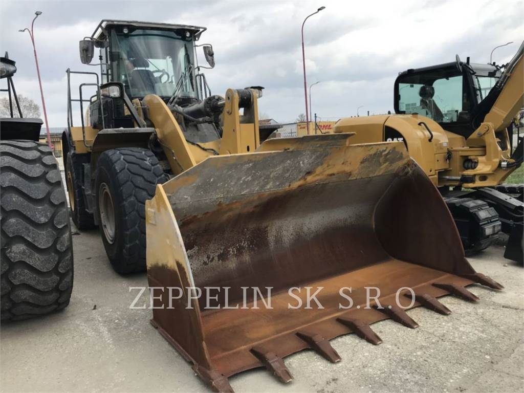 Caterpillar 962M, Wheel Loaders, Construction