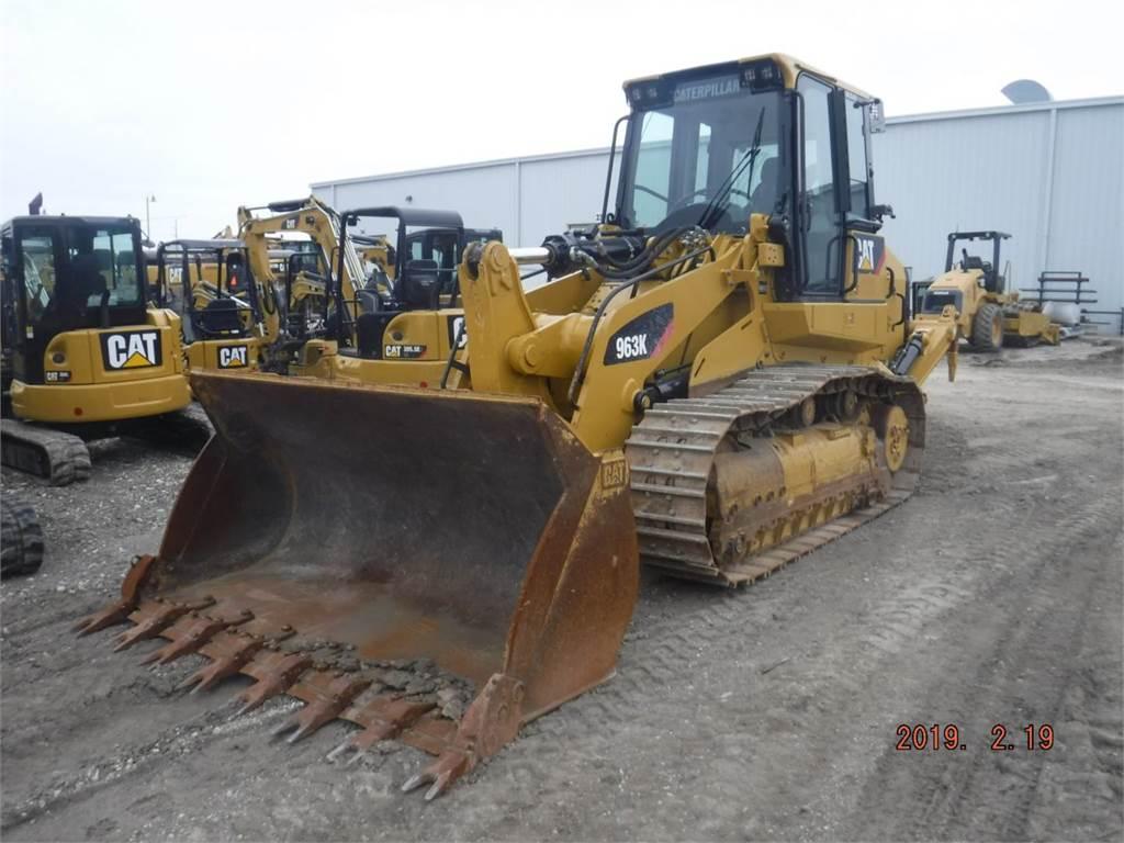 Caterpillar 963 K, carregadeira de esteiras, Equipamentos Construção