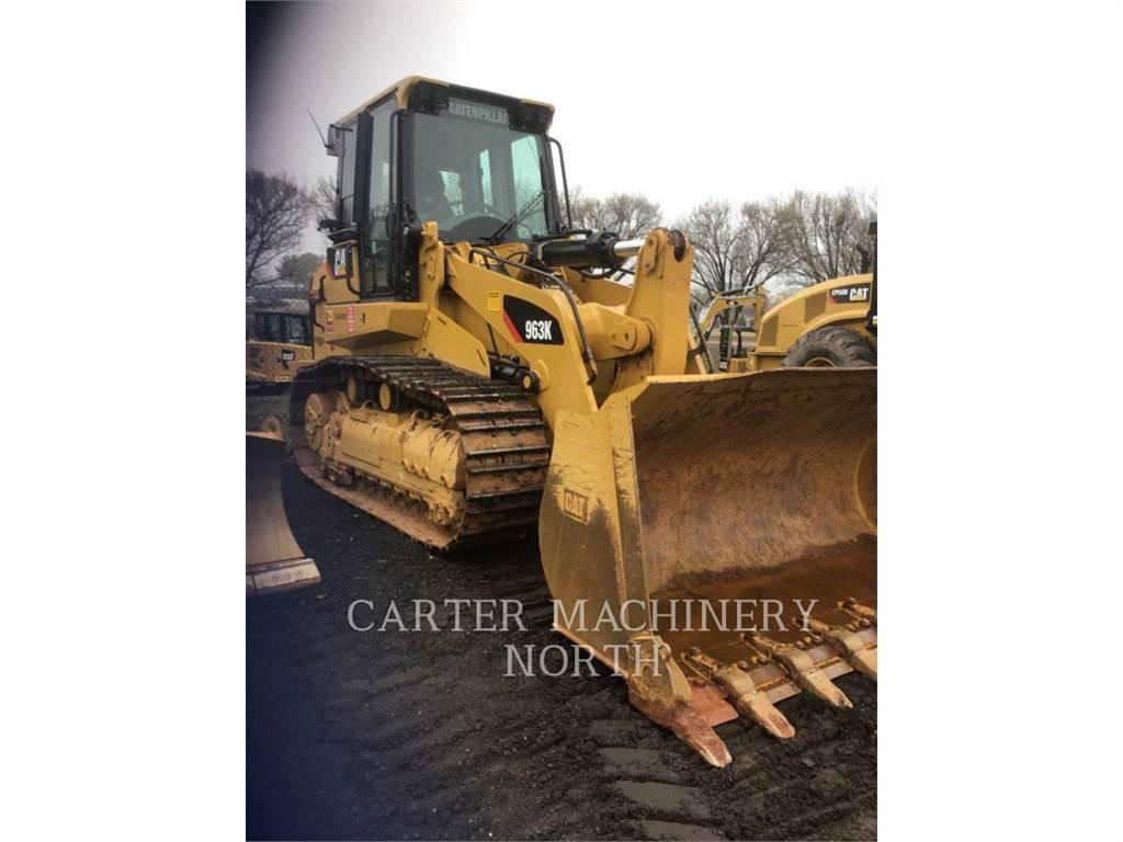Caterpillar 963 K, track loaders, Construction