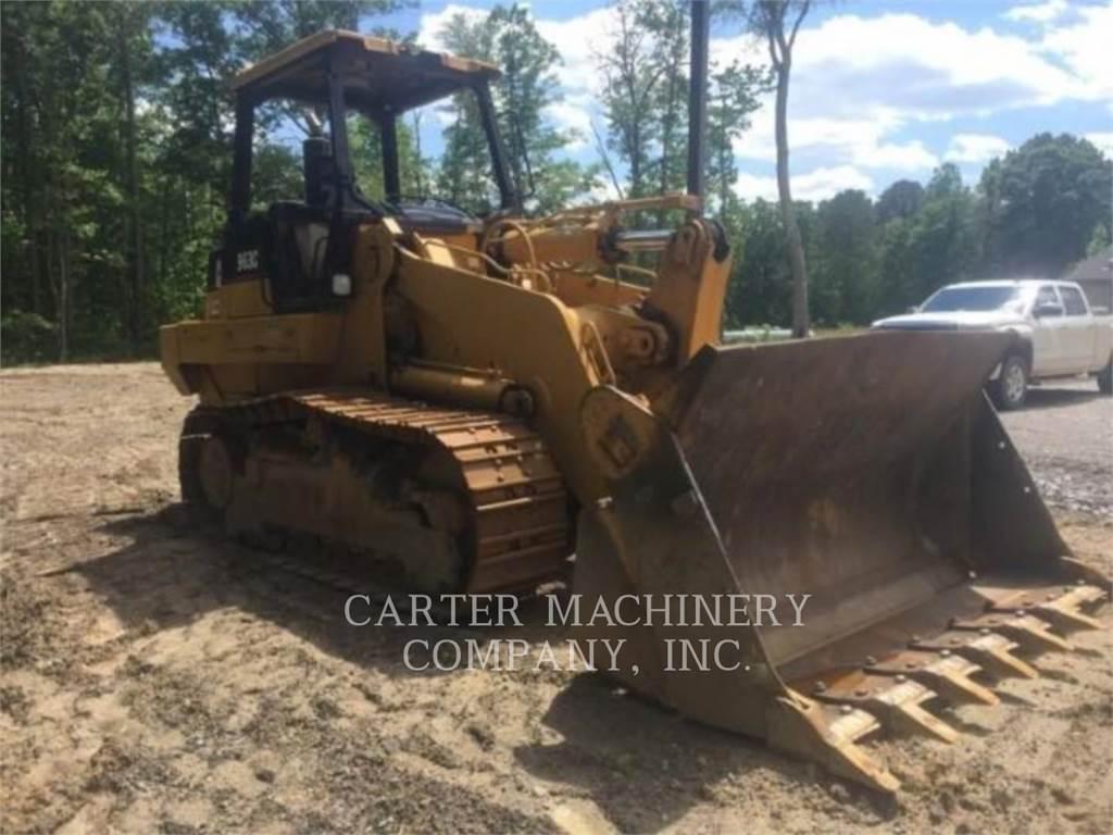 Caterpillar 963C, carregadeira de esteiras, Equipamentos Construção
