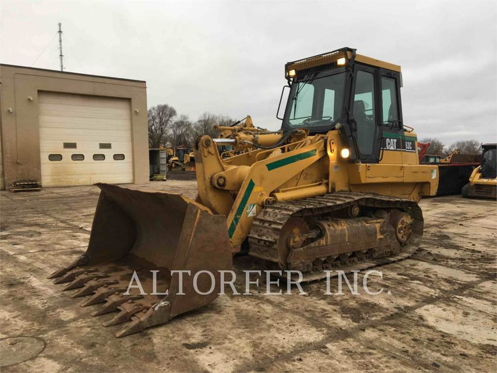 Caterpillar 963C, track loaders, Construction