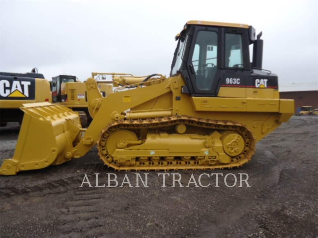 Caterpillar 963C CAC、履帯式ローダ、建設