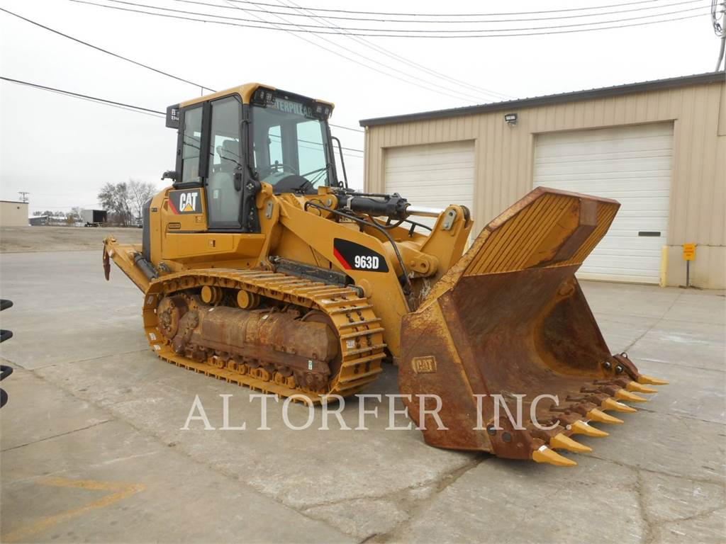 Caterpillar 963D, chargeurs sur chaines, Équipement De Construction