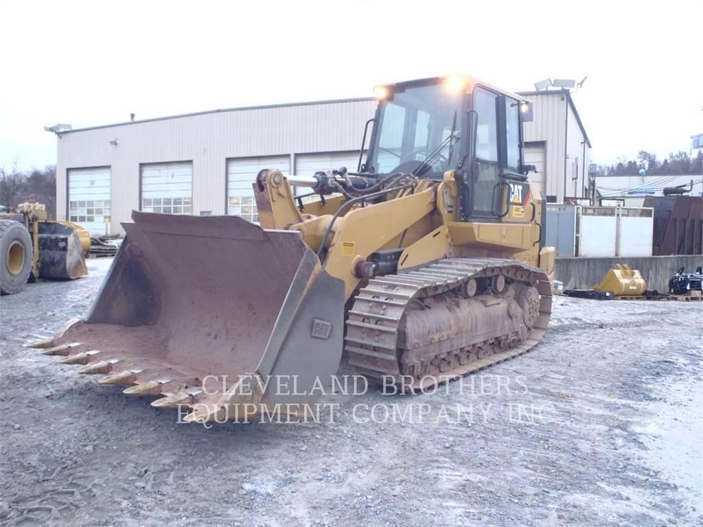 Caterpillar 963D, cargadores de cadenas, Construcción