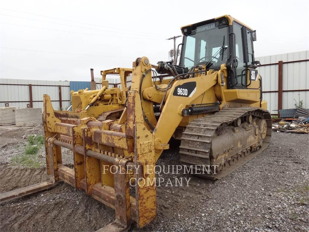 Caterpillar 963D, carregadeira de esteiras, Equipamentos Construção