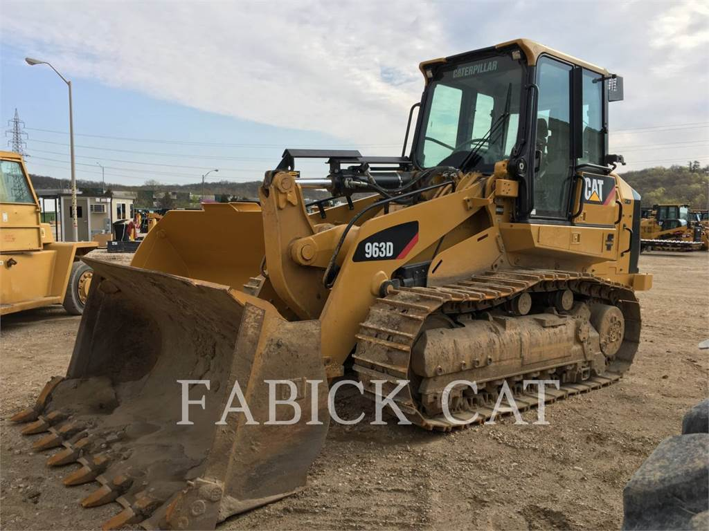 Caterpillar 963D, track loaders, Construction