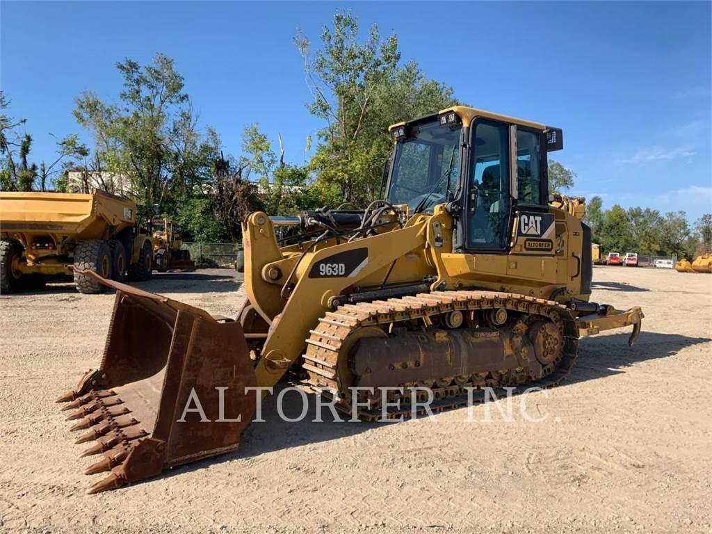 Caterpillar 963D R, încărcătoare cu şenile, Constructii