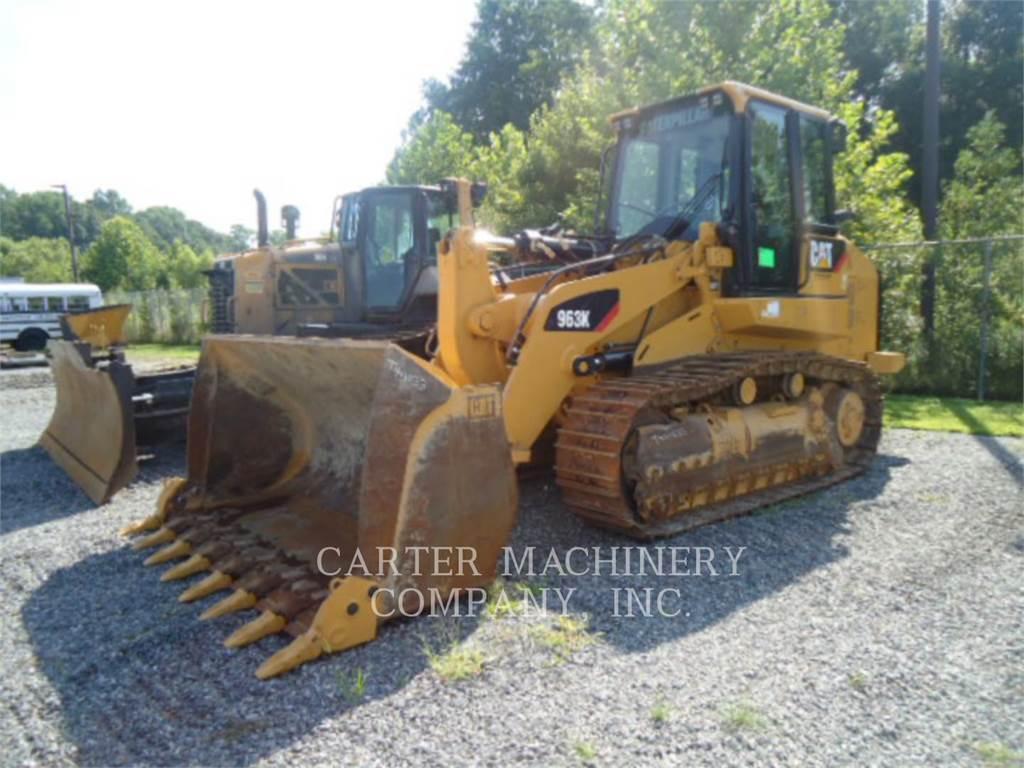 Caterpillar 963K, track loaders, Construction