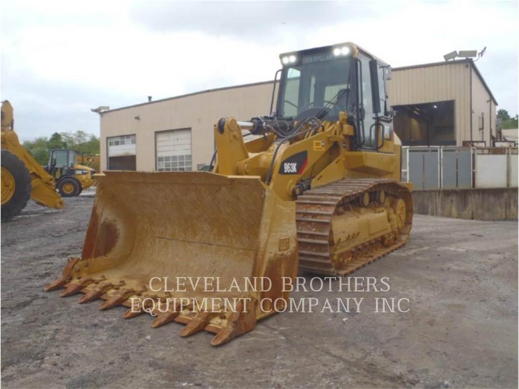 Caterpillar 963K, cargadores de cadenas, Construcción