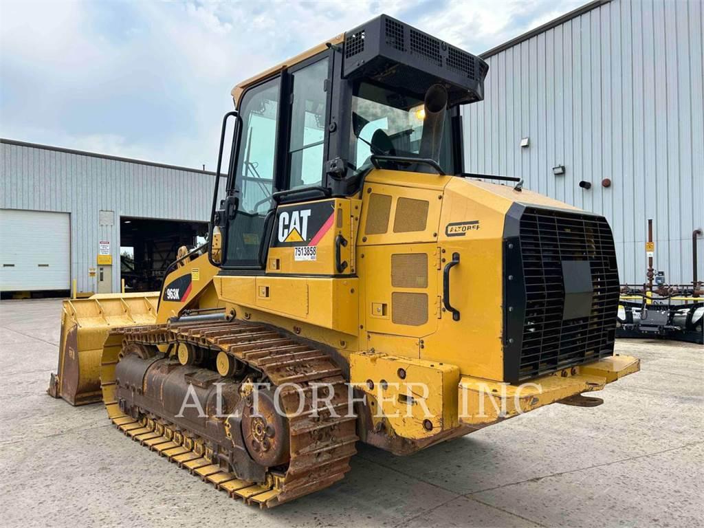 Caterpillar 963K, încărcătoare cu şenile, Constructii