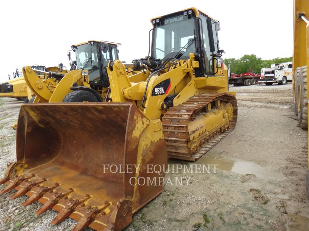 Caterpillar 963K, track loaders, Construction
