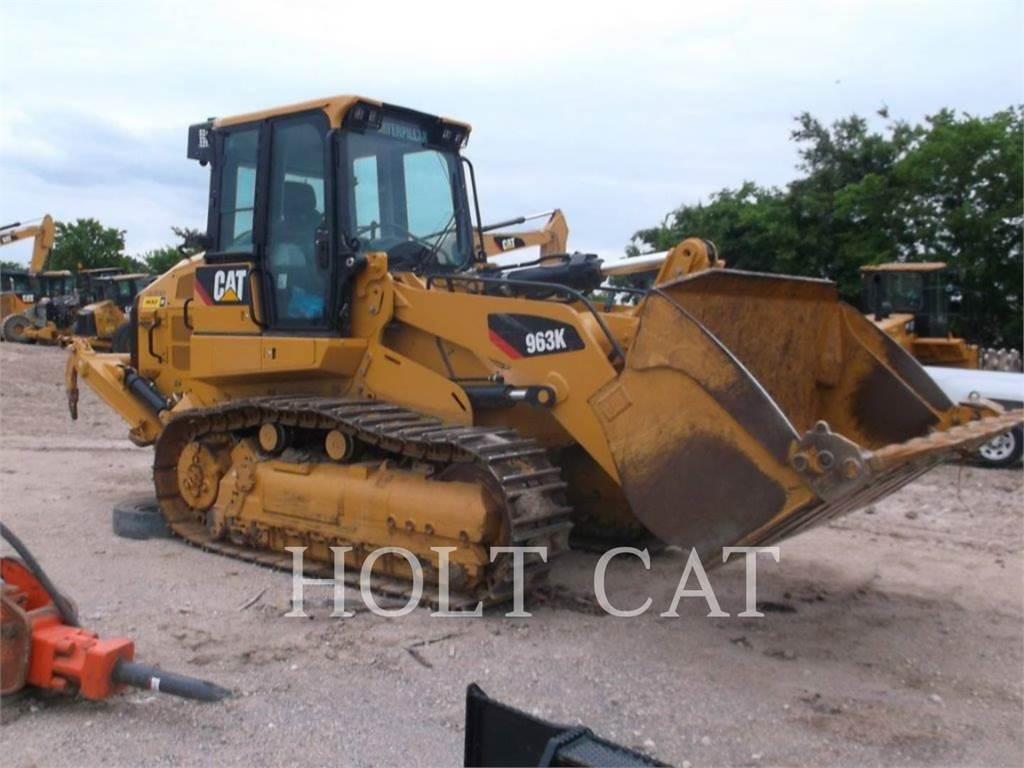 Caterpillar 963K、履带式装载机、建筑设备