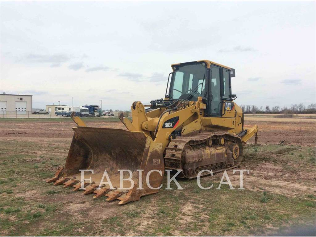 Caterpillar 963K WDA, track loaders, Construction