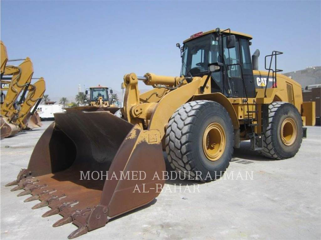 Caterpillar 966 H, Wheel Loaders, Construction