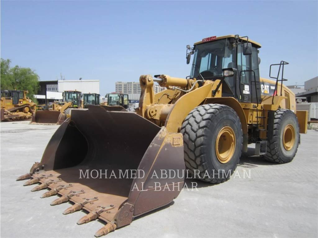 Caterpillar 966 H, Chargeuse sur pneus, Équipement De Construction