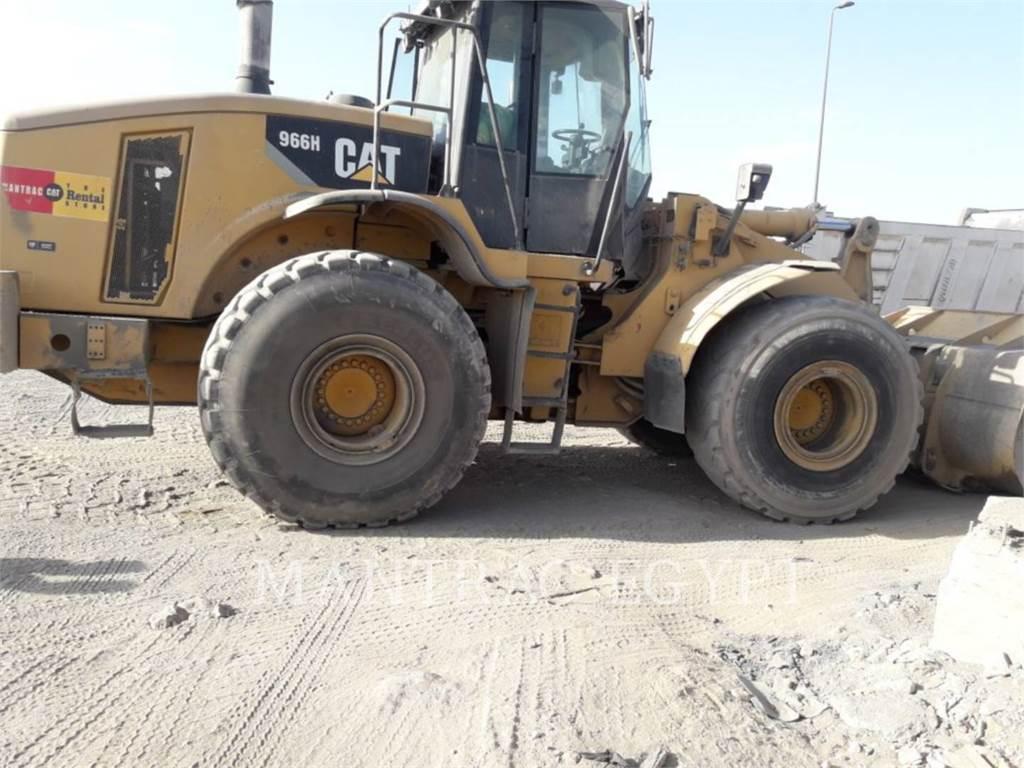 Caterpillar 966 H, Wheel Loaders, Construction