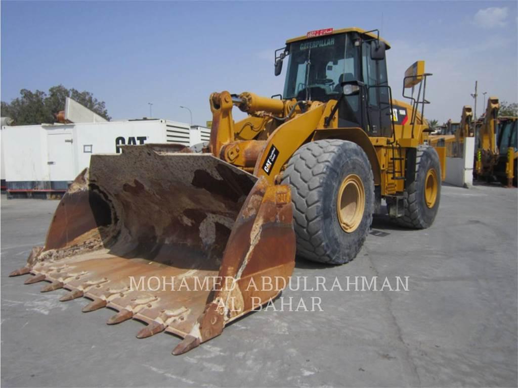 Caterpillar 966 H、ホイールローダー、建設