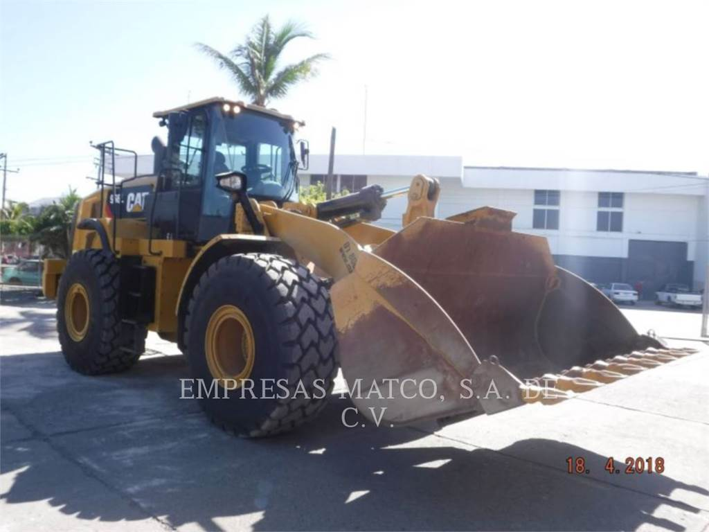 Caterpillar 966 L, Wheel Loaders, Construction
