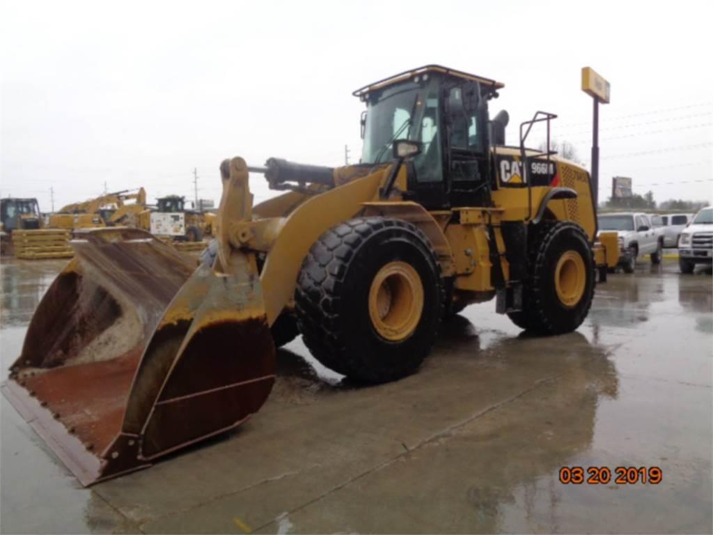 Caterpillar 966 M, Incarcator pe pneuri, Constructii