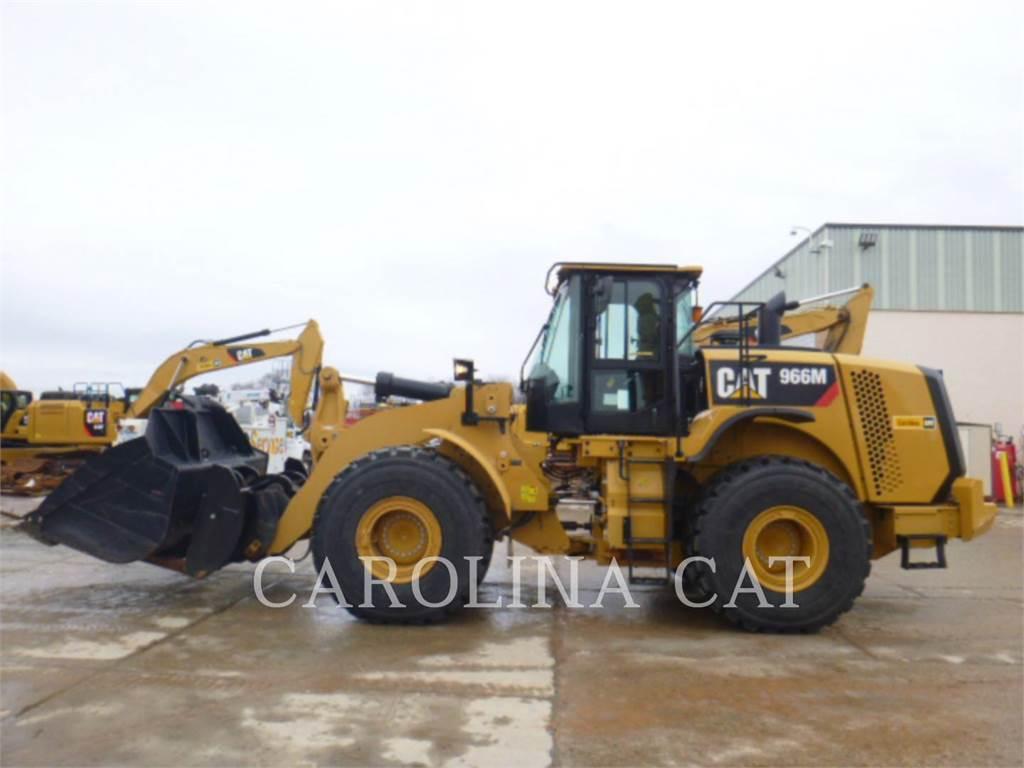 Caterpillar 966 M, Cargadoras sobre ruedas, Construcción