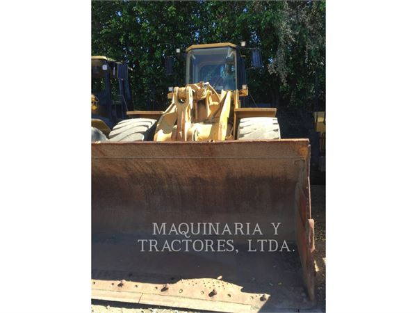 Caterpillar 966FII, Wheel Loaders, Construction