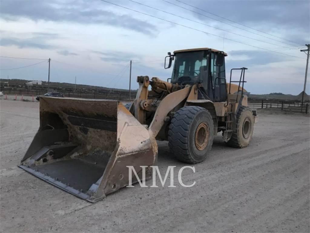 Caterpillar 966GII, Cargadoras sobre ruedas, Construcción
