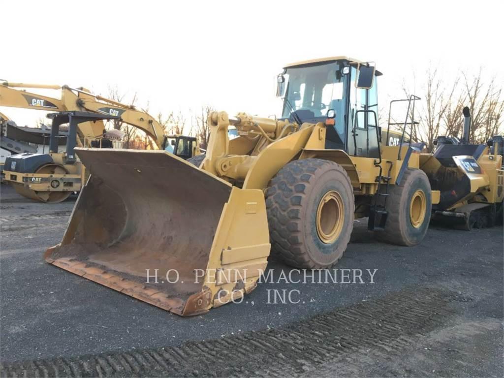 Caterpillar 966GII, Incarcator pe pneuri, Constructii