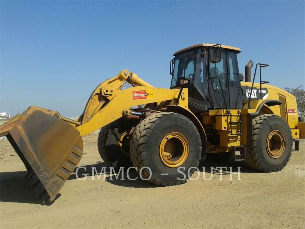 Caterpillar 966H, Pás carregadoras de rodas, Equipamentos Construção