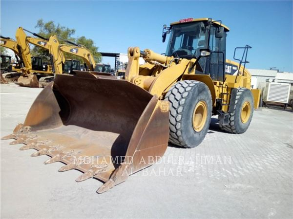 Caterpillar 966H, Wheel Loaders, Construction