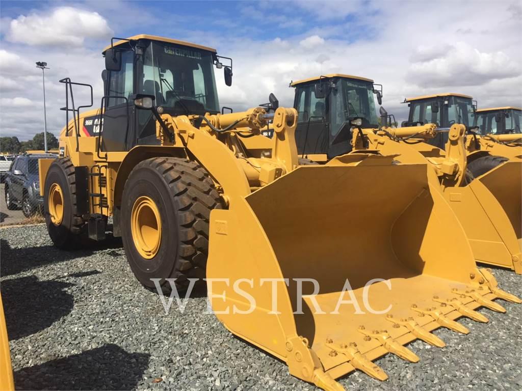 Caterpillar 966H, Incarcator pe pneuri, Constructii