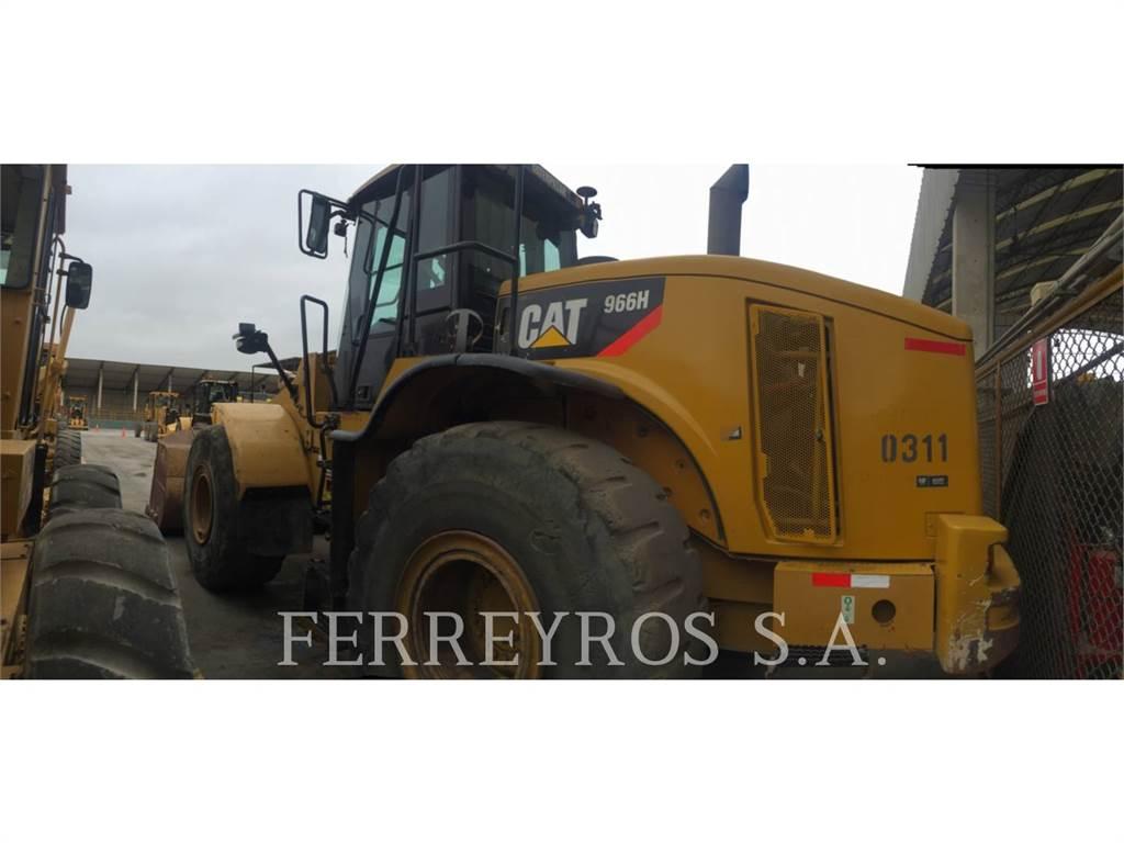 Caterpillar 966H, Cargadoras sobre ruedas, Construcción
