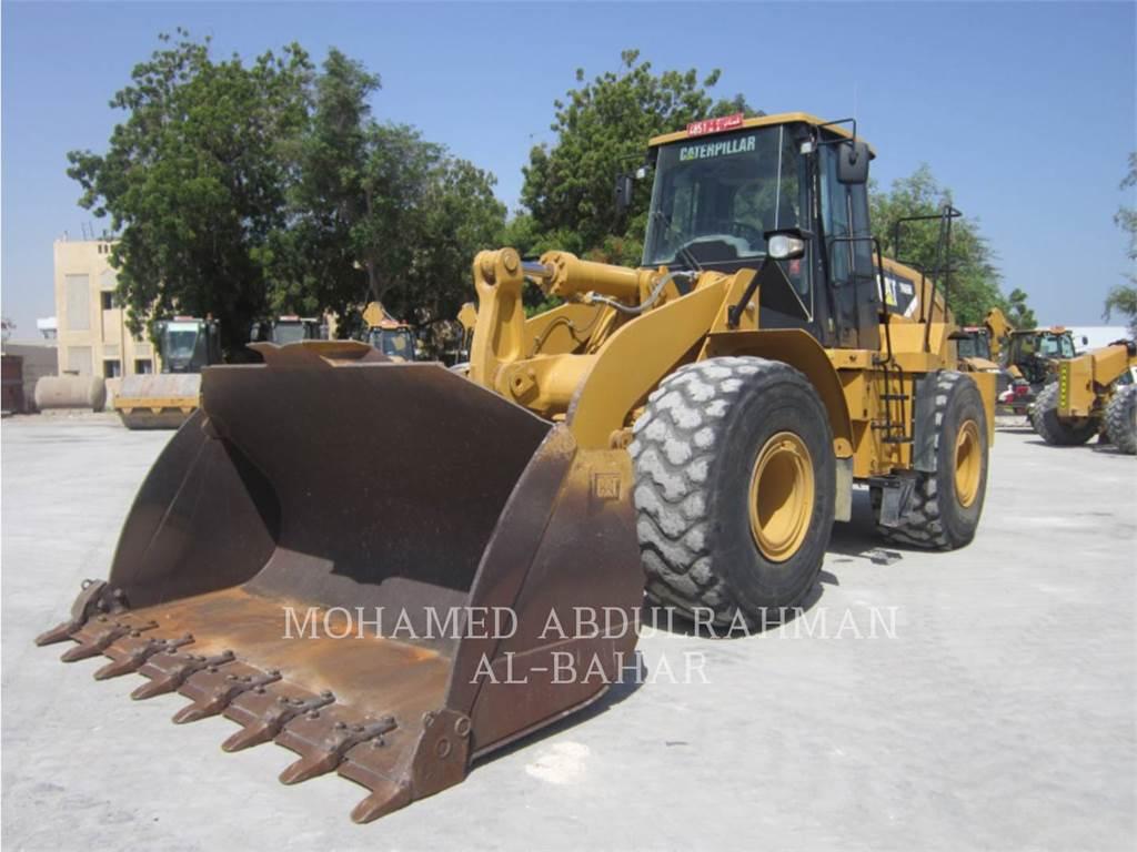 Caterpillar 966H、轮式装载机、建筑设备